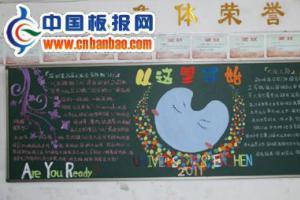 深圳大学生运动会黑板报