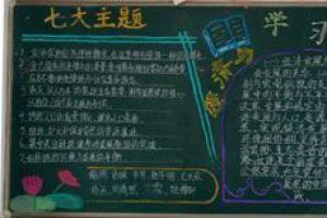 学习实践科学发展观黑板报图片3张