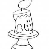哈哈大笑的蜡烛