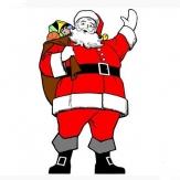 挥手的圣诞老人