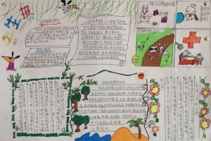 四年级卫生手抄报图片