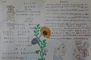 2013重阳手抄报图片大全