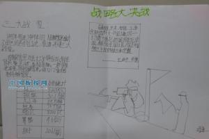 三大战役手抄报:战略大决战