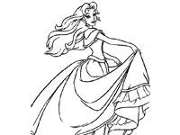 茜茜公主简笔画