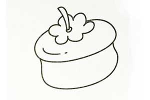 柿子简笔画
