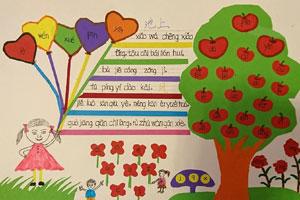 一年级小学生拼音简单漂亮手抄报图片