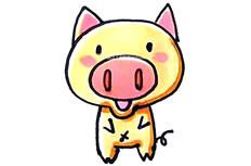 可爱的小猪简笔画图片 可爱的小猪怎么画