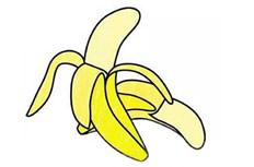 彩色香蕉简笔画图片 彩色香蕉怎么画