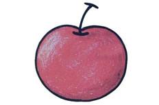 苹果简笔画彩色图片 苹果怎么画