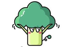 三张卡通蔬菜简笔画图片 卡通蔬菜怎么画
