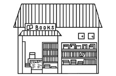 书店简笔画 书店怎么画