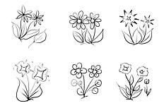 花朵简笔画图片 花朵怎么画