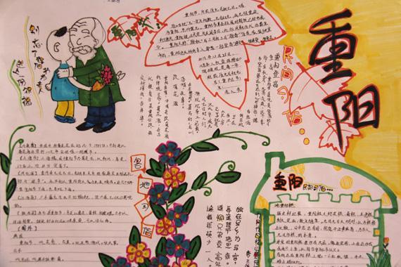 传统重阳手抄报图片