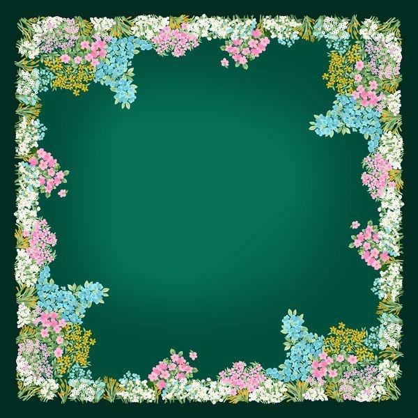 手抄报边框:花卉边框2