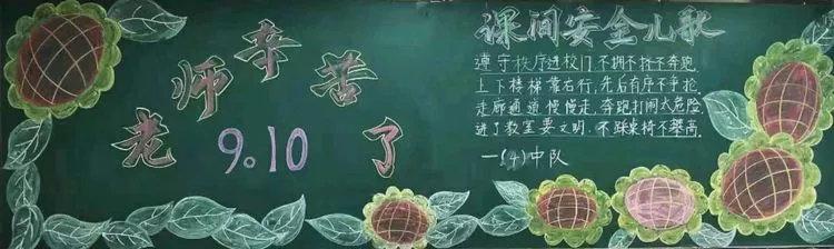 老师辛苦了黑板报图片