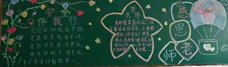 感恩教师节黑板报图片