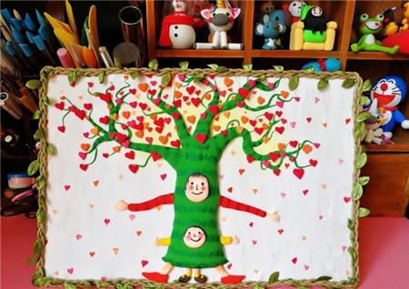 可爱的大树粘土制作方法