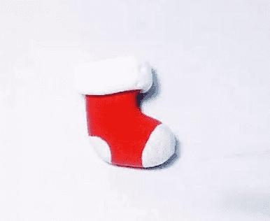 圣诞袜粘土制作方法