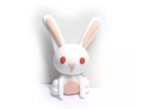 小白兔粘土制作方法