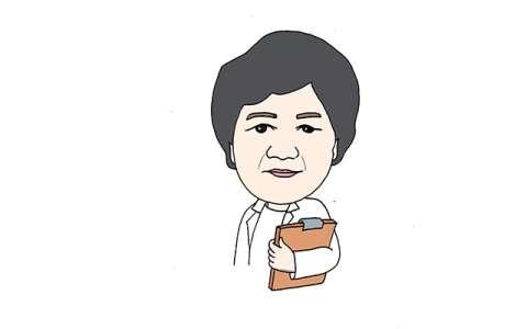 李兰娟简笔画图片