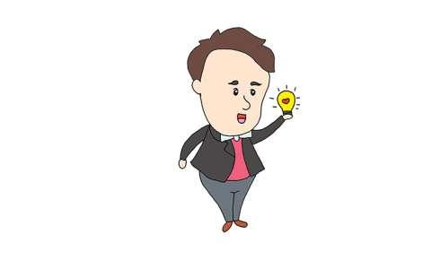 爱迪生与电灯简笔画图片