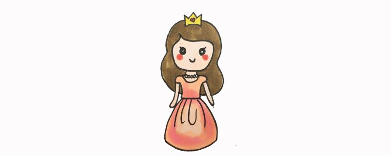 公主简笔画图片