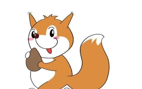 小松鼠简笔画图片 小松鼠怎么画的