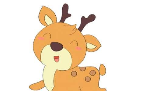 鹿简笔画图片 鹿是怎么画的