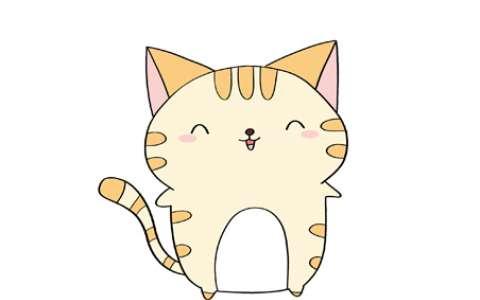 小猫咪简笔画图片 小猫咪怎么画