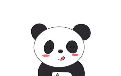 大熊猫简笔画图片 大熊猫是怎么画的