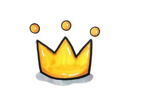 皇冠简笔画图片 皇冠怎么画