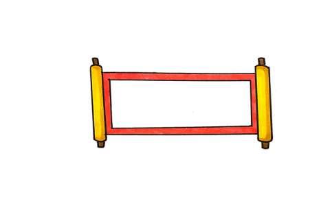 春节手抄报边框图片 春节手抄报边框是怎么画的