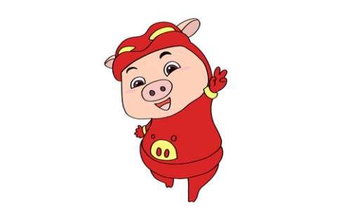 猪猪侠简笔画图片 猪猪侠怎么画