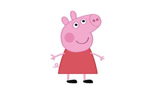 小猪佩奇简笔画图片 小猪佩奇是怎么画的