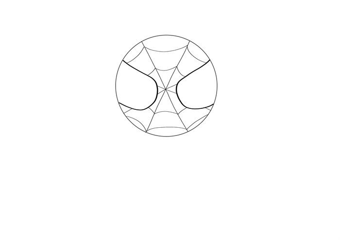 蜘蛛侠简笔画图片 蜘蛛侠是怎么画的