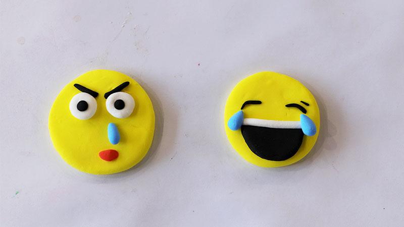 超轻粘土表情包教程图片 粘土是怎么做表情包