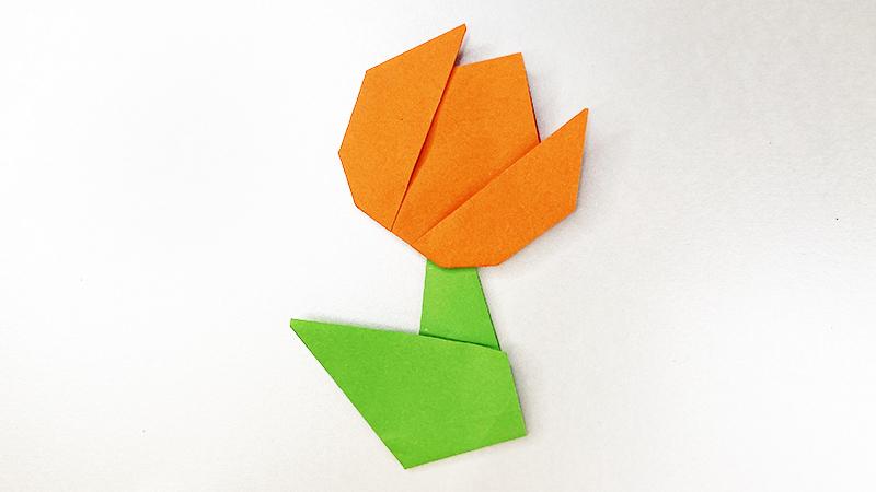 幼儿园简单纸花折法步骤图片 纸花是怎么折的