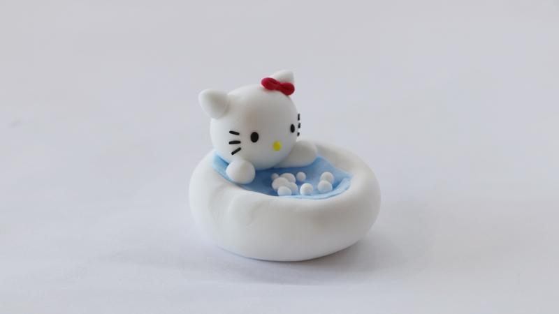 超轻粘土浴缸教程图片 粘土是怎么做浴缸