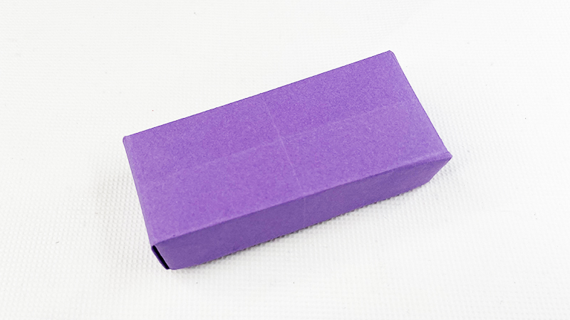 用纸做的漂亮文具盒教程图片 文具盒是怎么折的