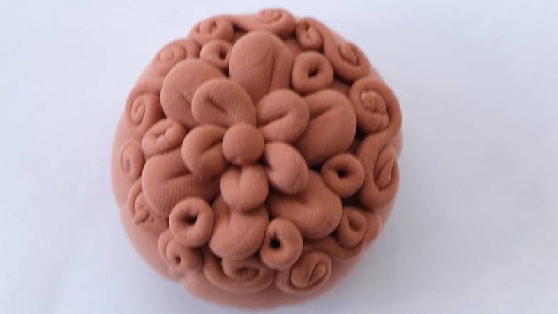 超轻粘土月饼做法步骤图片 粘土如何做月饼
