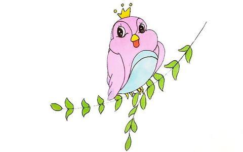 简单的小鸟简笔画图片 小鸟是怎么画的