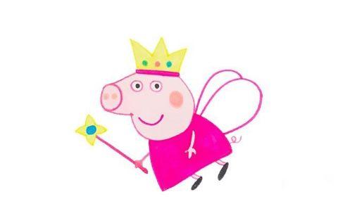 小猪佩奇动画人物简笔画图片 小猪佩奇是怎么画的