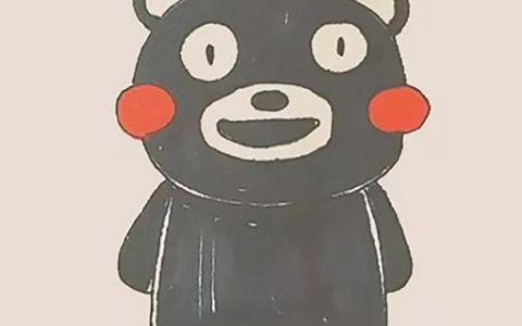 熊本熊简笔画图片 熊本熊是怎么画的
