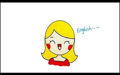 英语老师简笔画图片 小朋友是怎么画英语老师的