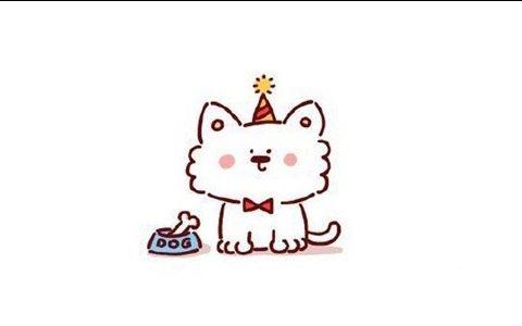 Q版猫咪简笔画图片 Q版猫咪是怎么画的
