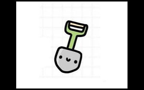 铲子简笔画图片 铲子是怎么画的