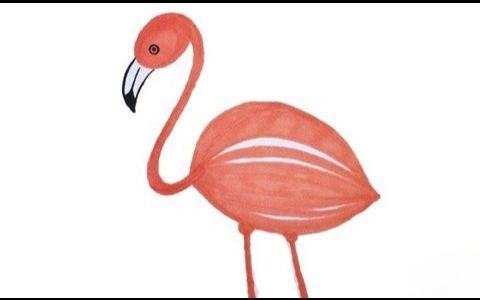 烈火鸟水彩简笔画图片 简单的烈火鸟是怎么画的