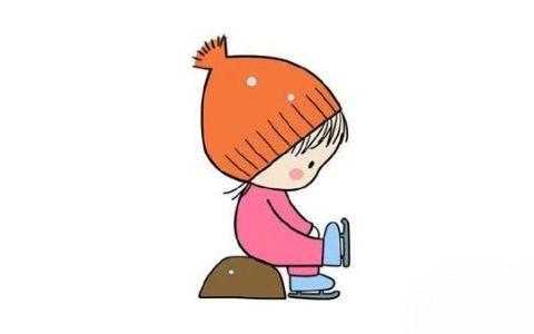 小女孩简笔画,可爱的小女是怎么画的