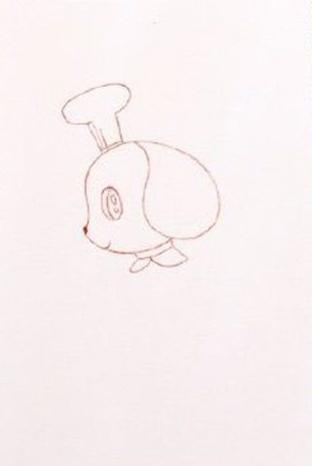 小狗简笔画图片 小狗是怎么画的