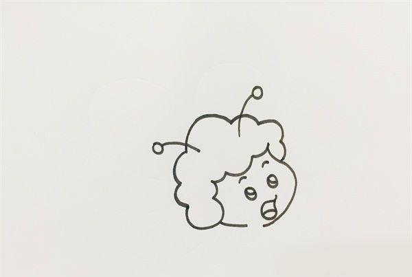 蜜蜂简笔画图片 可爱的蜜蜂是怎么画的